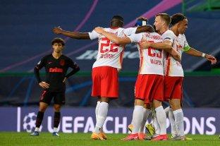 Con un gol agónico, Leipzig derrotó a Atlético Madrid y clasificó a semifinales de la Champions