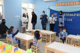 Las escuelas abren progresivamente en zonas rurales y de forma voluntaria