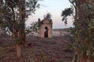 La historia del primer cementerio de San Jorge, un lugar mágico en el medio del campo -  -