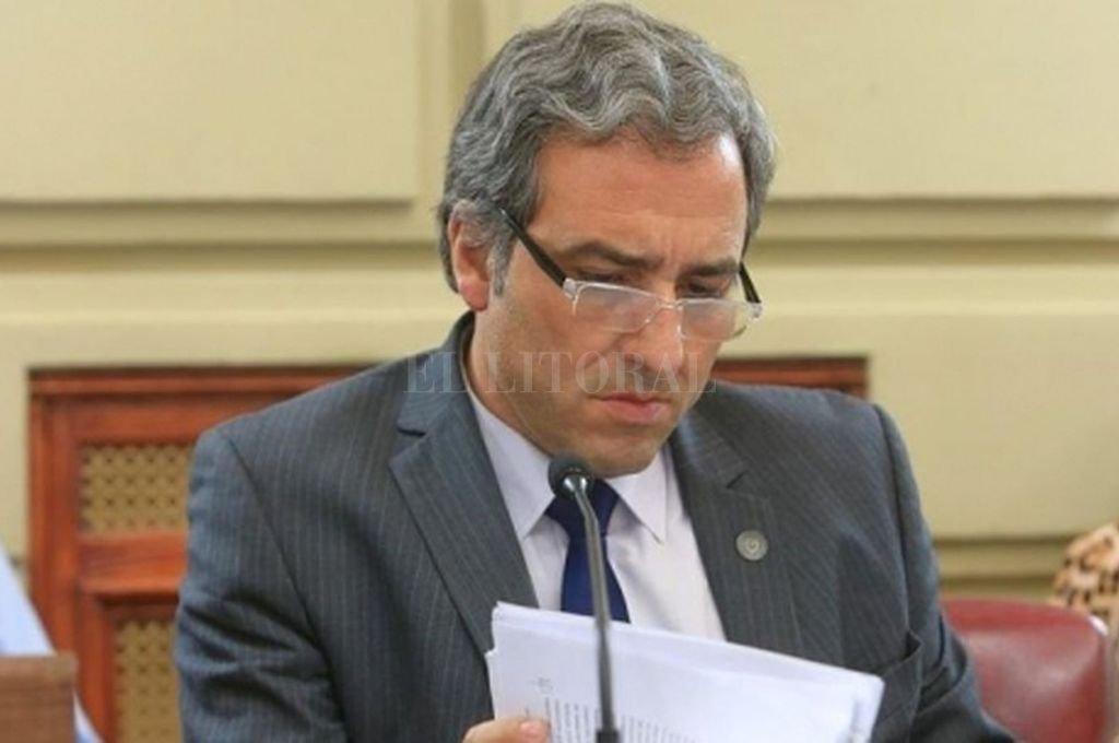 Proyecto presentado por el diputado Oscar Martínez Crédito: Archivo