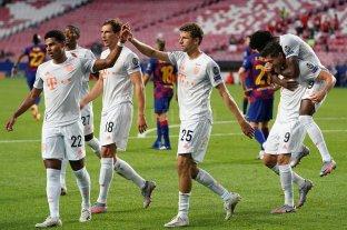 Barcelona sufrió una goleada histórica ante Bayern Munich, que lo eliminó de la Champions