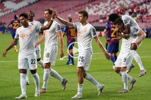 Barcelona sufrió una goleada histórica ante Bayern Munich, que lo eliminó de la Champions -  -
