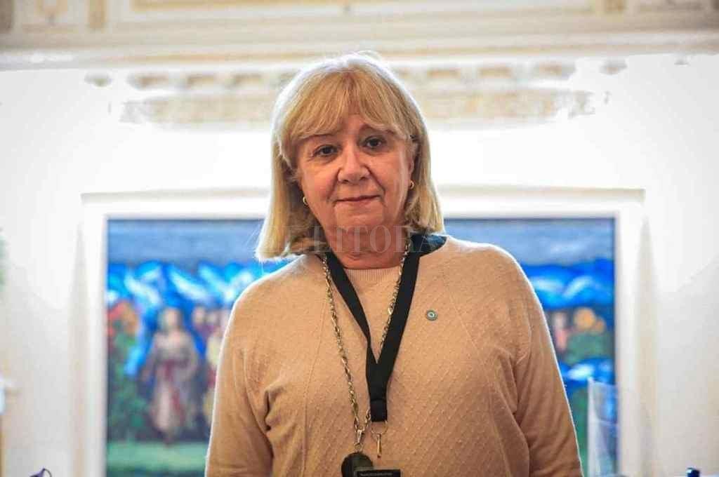 Matilde Bruera postula que Sain vaya a la Cámara a presentar la auditoría realizada por su cartera    Crédito: El Litoral