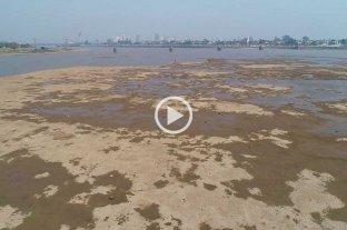El Río Paraná llegó a 60 cm en Santa Fe y estiman un leve repunte para los próximos días -  -