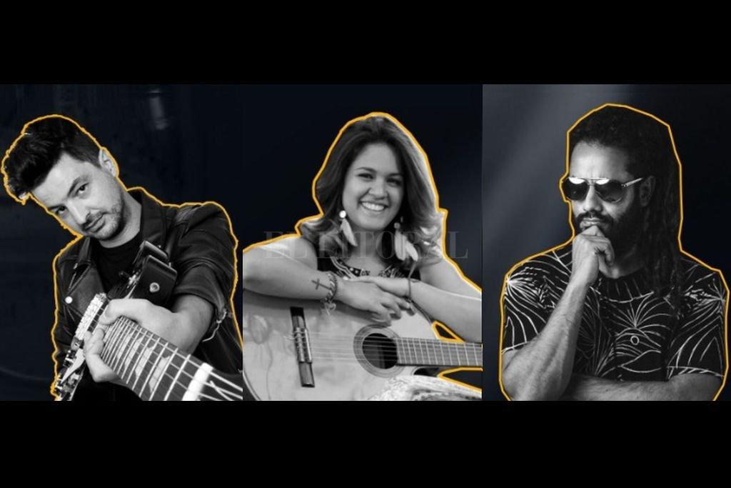 En esta emisión, compartirán escenario Chino Mansutti con sus nuevas canciones; la identidad folclórica de Ángeles Deló; y todo el groove de Black Sosa.  Crédito: Gentileza producción