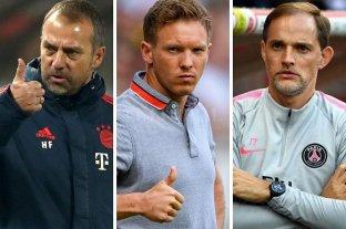 Tres entrenadores alemanes en semifinales de la Liga de Campeones