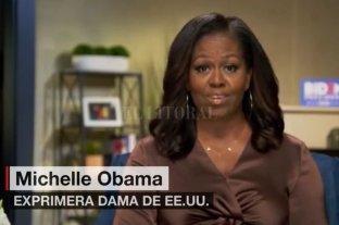 """Michelle Obama: Biden es un """"hombre decente"""" que """"sabe escuchar"""""""