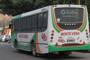 Monte Vera sigue en aislamiento y se suspendió el transporte público