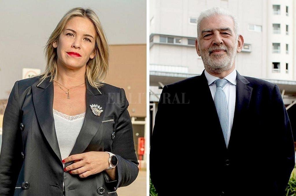 María José Correa y Antonio Eduardo Tabanelli, directora comercial y presidente de Torre Puerto Santa Fe, respectivamente. Crédito: Pablo Aguirre
