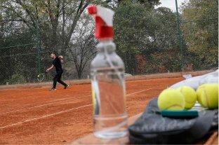 Oficializaron la habilitación para practicar deportes individuales