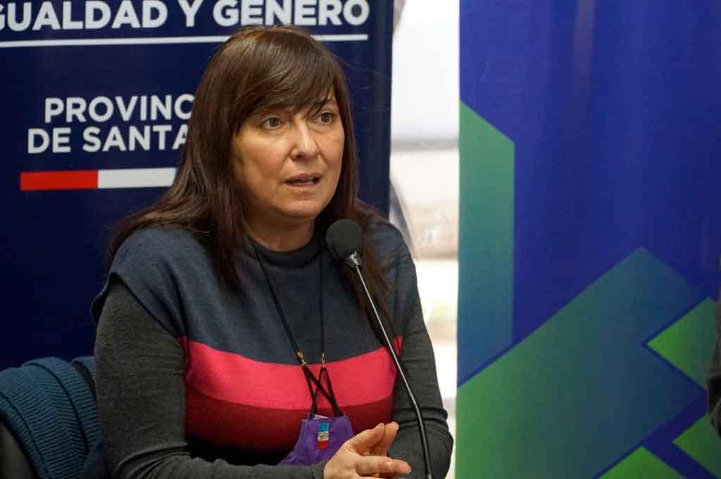 La secretaria de Estado de Igualdad y Género de la provincia, Celia Arena. Crédito: Gentileza.