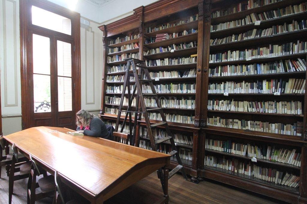 Biblioteca Pedagógica Domingo Faustino Sarmiento Crédito: Archivo El Litoral
