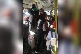 Santafesinos denuncian que hay aglomeración de personas en los colectivos de la ciudad