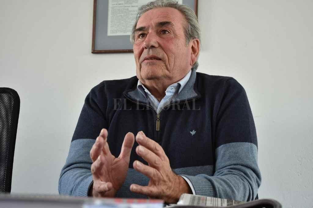 Ricardo Olivera, presidente del PJ.    Crédito: El Litoral