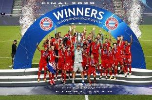 Bayern Múnich venció a PSG y obtuvo su sexta Champions League