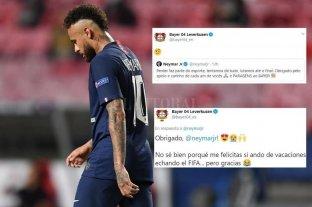 El error de Neymar en las redes sociales que se hizo viral