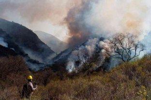 Cuatro provincias continúan con focos activos de incendio forestales