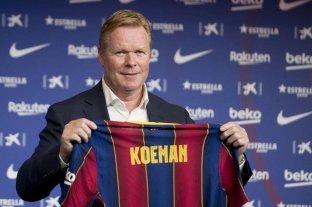 Ronald Koeman podría perderse el debut de Barcelona en La Liga