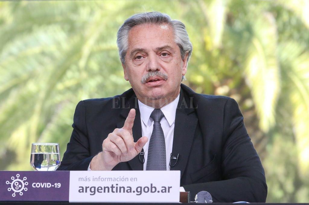 El presidente, Alberto Fernández, quiere quitarse la cucarda:
