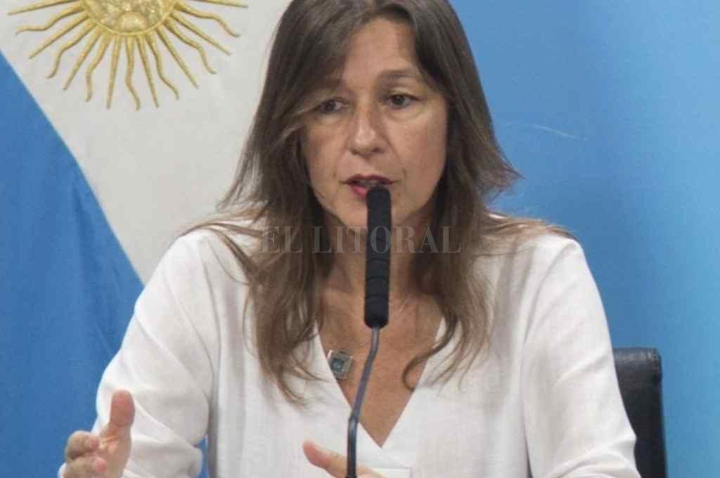 La titular de la cartera de Seguridad de la Nación, Sabina Frederic.   Crédito: Archivo