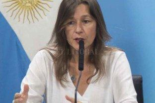 La ministra de Seguridad apuntó contra la Policía por el asesinato de Juan Roldán - La titular de la cartera de Seguridad de la Nación, Sabina Frederic.   -