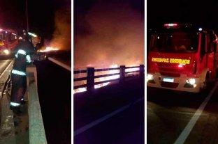 Volvieron a quemar debajo del Puente Carretero