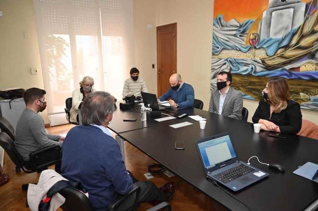 En la delegación Rosario de Diputados, se constituyó una nueva comisión en este caso propiciada por el socialismo.    Crédito: Cámara de Diputados