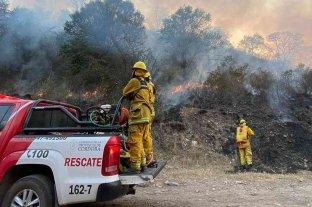 Sigue la lucha contra los incendios forestales en Córdoba -  -