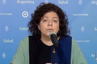 La ministra de Salud, Carla Vizzotti, tiene coronavirus - Carla Vizzotti, ministra de Salud.
