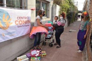 Conin entregó 1600 cajas saludables  gracias a la solidaridad colectiva