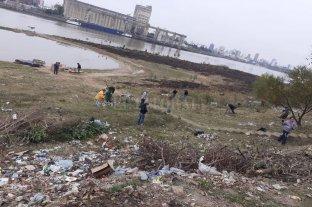 """En Alto Verde limpiar la orilla del río se volvió una """"sana costumbre"""""""
