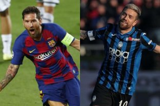 """Messi y """"Papu"""" Gómez fueron elegidos en el plantel ideal de la Champions League"""