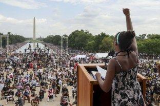 Washington: una multitud emuló la Gran Marcha de Martin Luther King contra el racismo