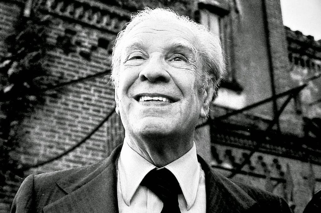 Jorge Luis Borges Crédito: Archivo El Litoral