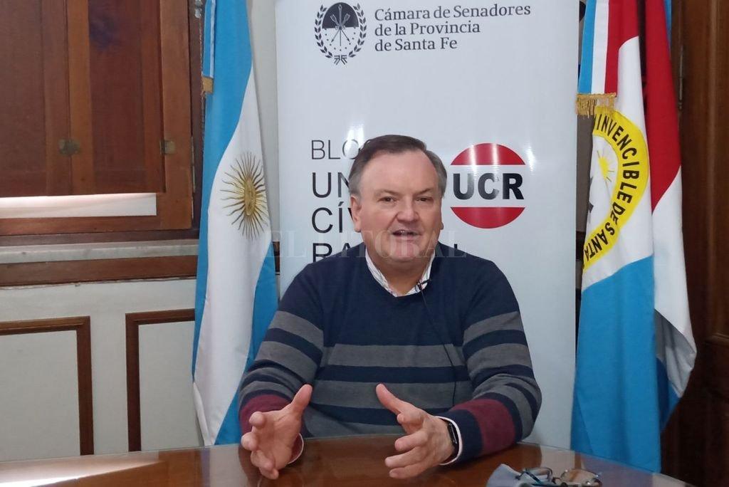 Felipe Michlig, senador por San Cristóbal Crédito: Archivo El Litoral