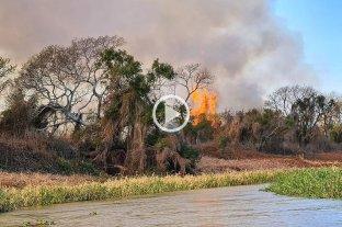 Otra vez quemas en la zona del country Ubajay