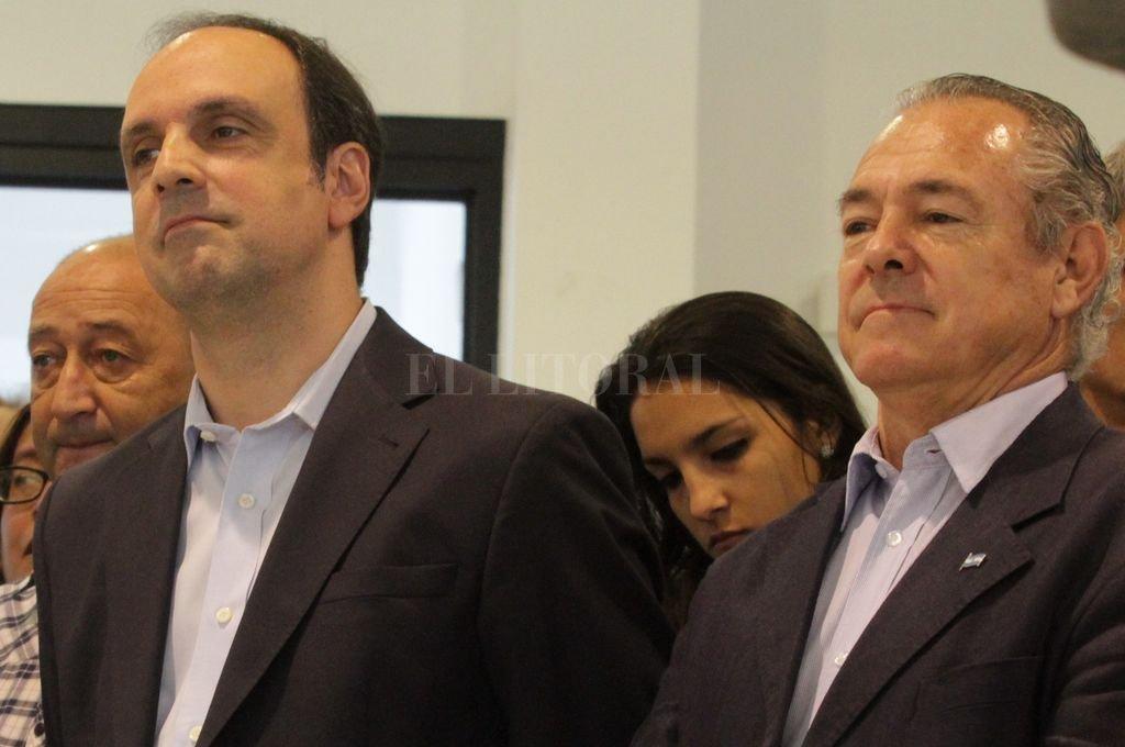 José Corral y Mario Barletta Crédito: Archivo El Litoral