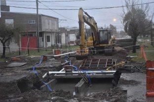 Desvío de tránsito sobre Facundo Zuviría  por el avance de la obra de desagüe Espora