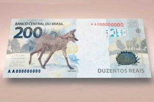 Brasil lanza el billete de 200 reales con un aguará guazú