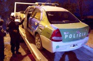 Encuentran un objeto de Facundo en el baúl de un patrullero de la policía bahiense - Uno de los patrulleros secuestrados en la causa Astudillo Castro. -