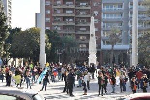Jueves de manifestaciones en la Plaza de Mayo