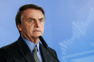 Bolsonaro fue operado de un cálculo en la vejiga