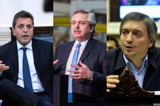Alberto Ferández se reunió con Massa y Máximo Kirchner para definir la estrategia legislativa
