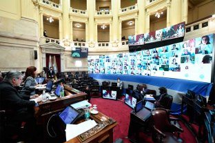 Inicia en el Senado la discusión del proyecto para sacarle más fondos a la ciudad de Buenos Aires -  -