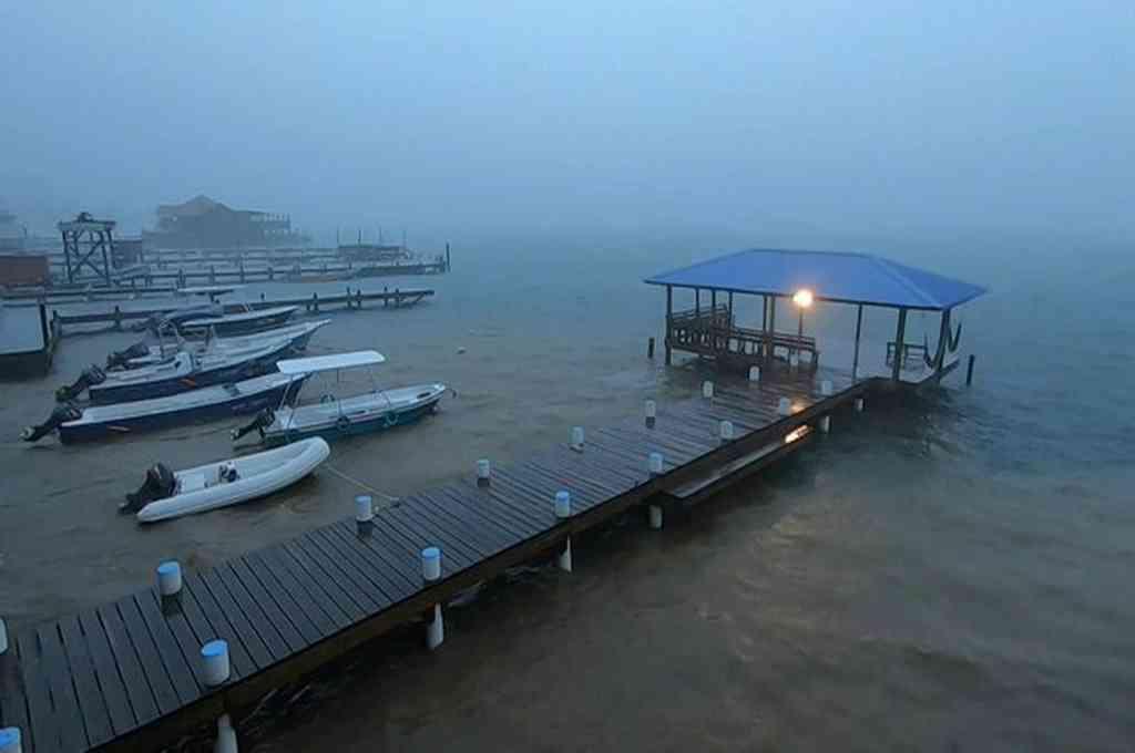 Tormenta tropical Nana se debilita en Guatemala en su paso a México. Crédito: AFP