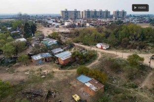 Asentamiento en El Pozo, una usurpación de más de una década