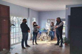 Borla entregó recursos a entidades de San Justo