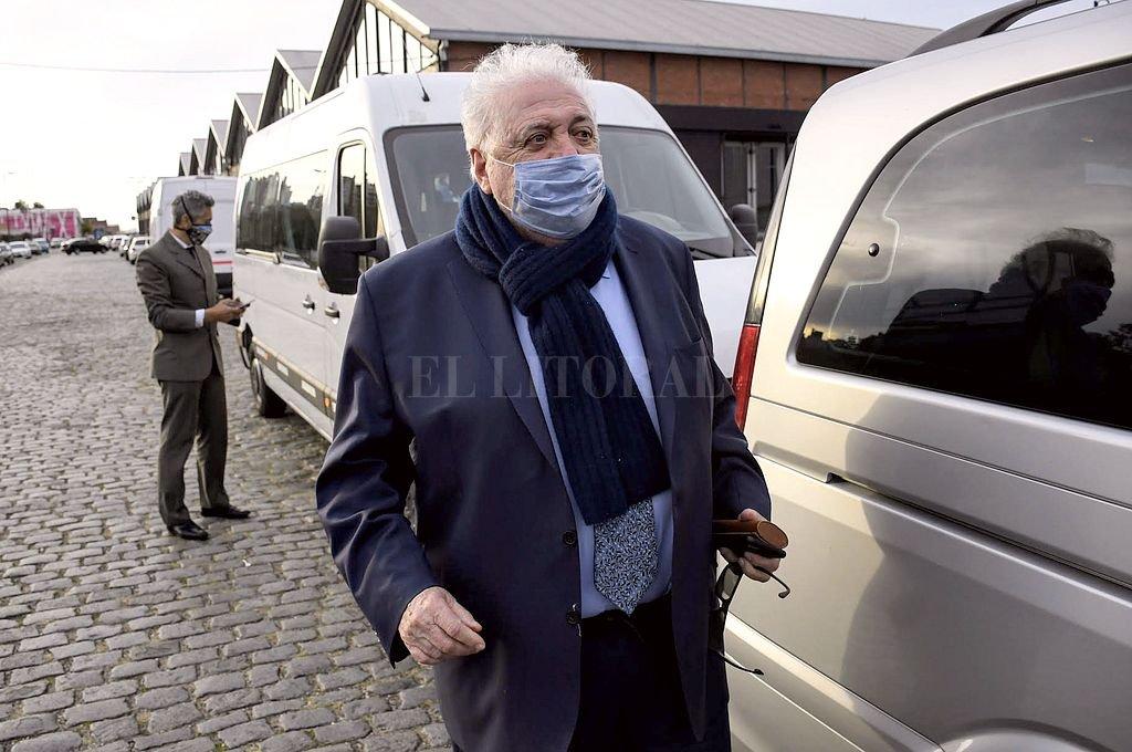 Ginés González García durante si visita a Rosario días atrás Crédito: Marcelo Manera