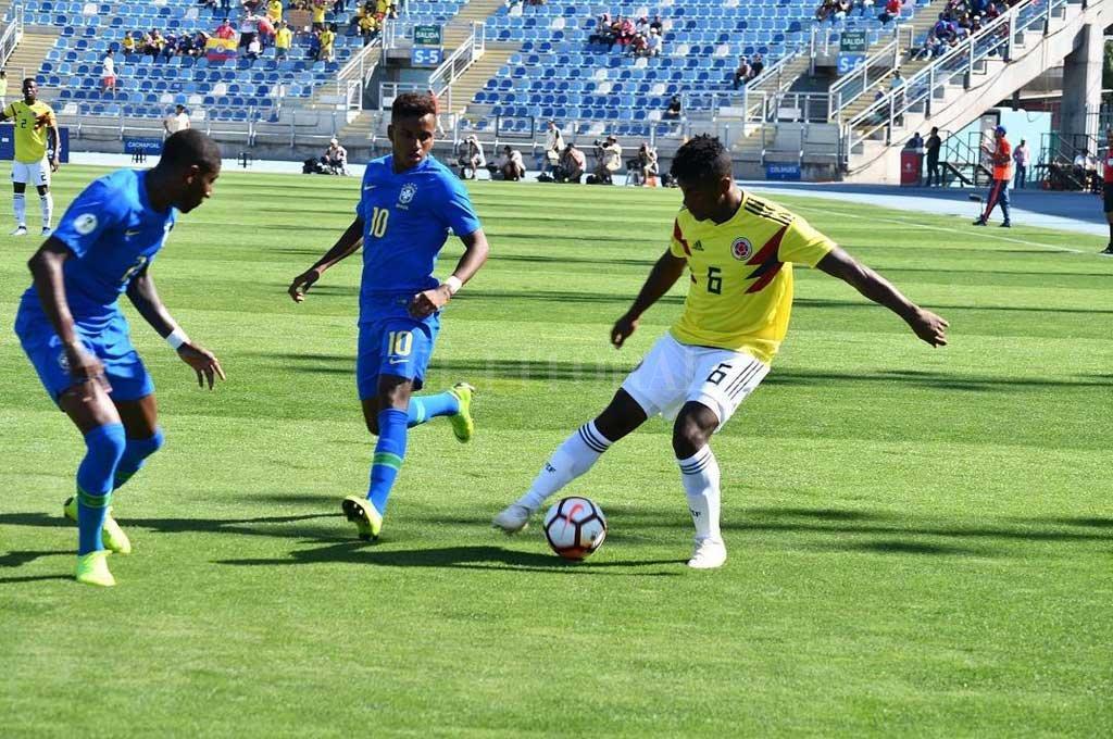 Con apenas 20 años, Yeiler Góez jugó y fue figura en el Sudamericano de Chile, clasificando a su equipo para el Mundialito FIFA Sub 20 que debe jugarse en Polonia. Crédito: El Litoral