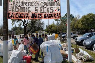 Se realizó el primer encuentro de recuperación de residuos en la Costa